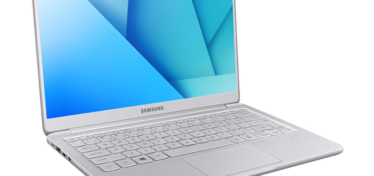 """Novos notebooks da Samsung serie 9 com tela de 13"""" e peso de 815 gramas"""